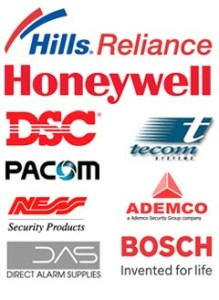 security alarm brands