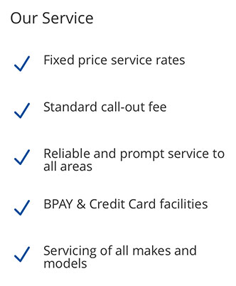 Features of the Select Security Perth Service