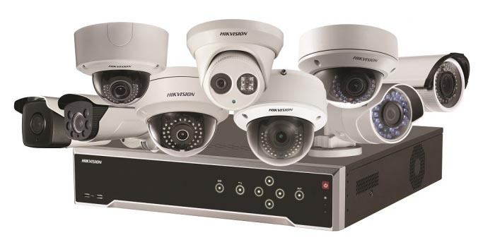 Hikvision CCTV Security System with H264 Compression